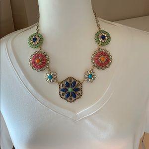 Faux necklace
